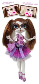 Джинджер Джонс - Дорожная / The Bridge Direct Pinkie Cooper Runway Ginger Jones Collection Doll