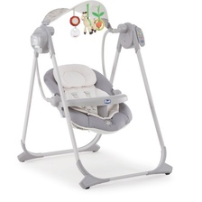 Детские электронные качели Chicco Polly Swing Up (silver )